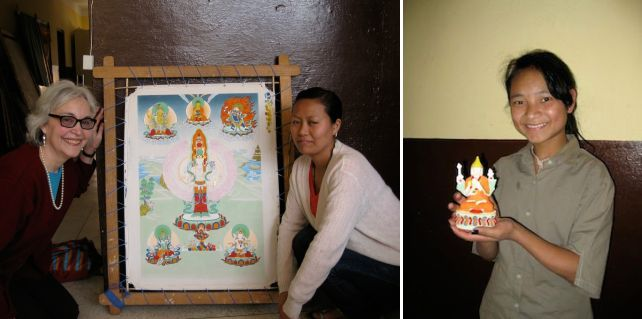 Nepal, Consulting on Preservation of Sacred Art, 2011